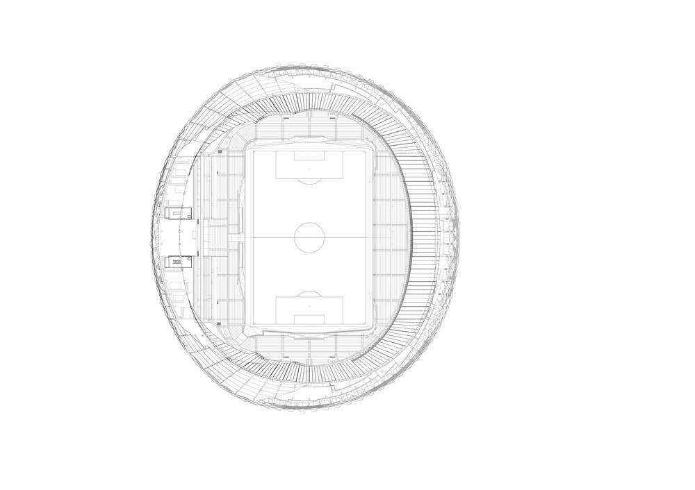 Hazza Bin Zayed (HBZ) Stadium in Al Ain, United Arab
