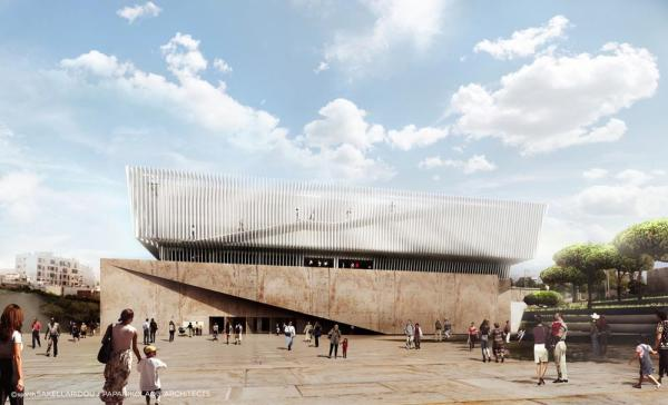 General View of the Museum , Image Courtesy © SPARCH SAKELLARIDOU/PAPANIKOLAOU ARCHITECTS
