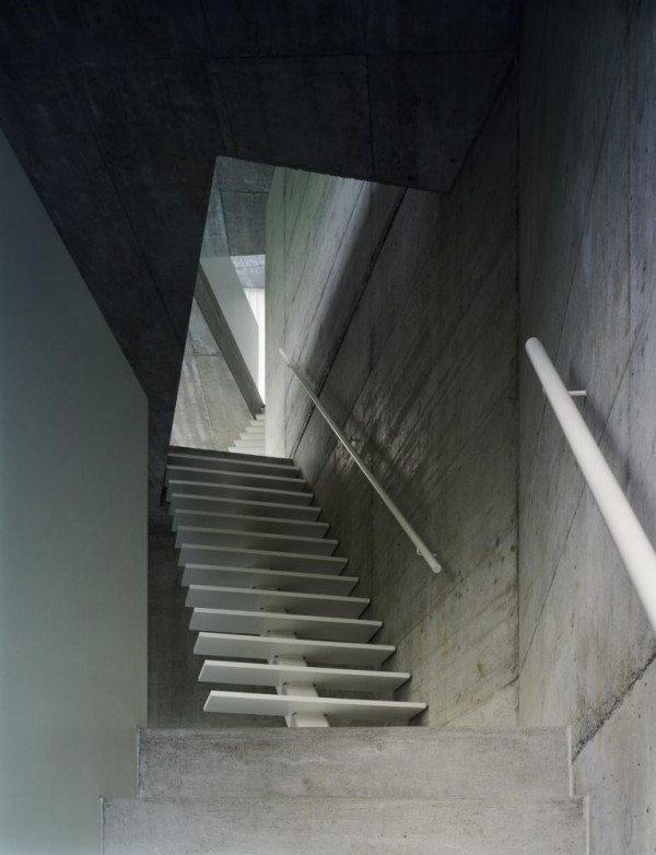 Staircase_North_Walter_Mair, Image Courtesy © Christian Kerez Zürich AG