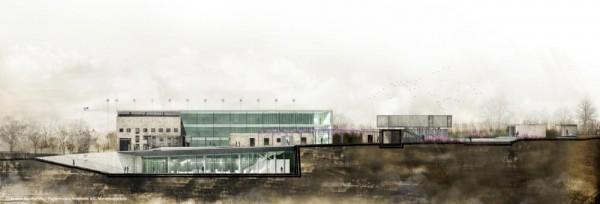 Main section, Image Courtesy © sparch Sakellaridou/ Papanikolaou Architects & Ch. Marathovouniotis