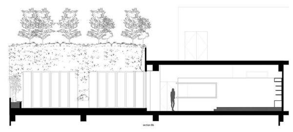 Section Bb, Image Courtesy © Laboratory for Explorative Architecture & Design Ltd