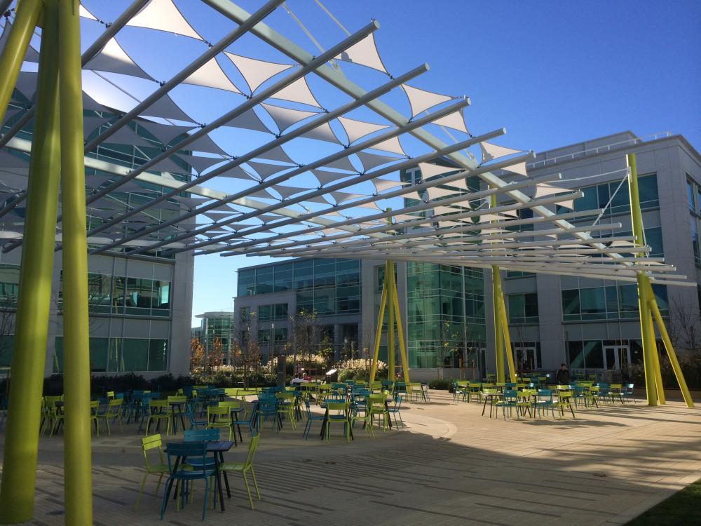 Google Tech Corners In Sunnyvale CA By Valerio Dewalt Train
