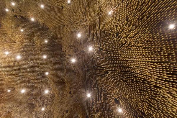 ceiling detail, Image Courtesy © Gabriel Castro