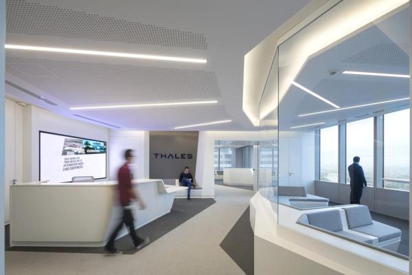 Reception hall, Image Courtesy © Hervé Abbadie