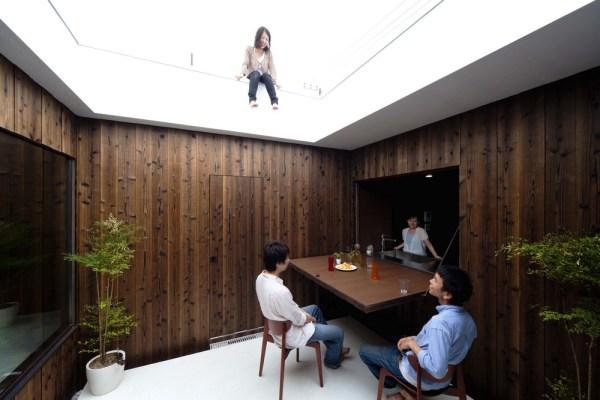 Courtyard, Image Courtesy © Toshihiro Sobajima