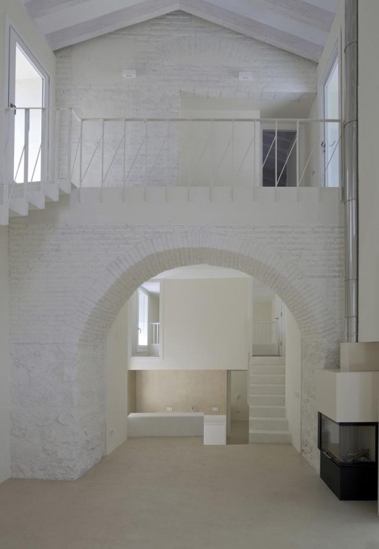 INTERIOR. HOUSE A, Image Courtesy © Luis Asin