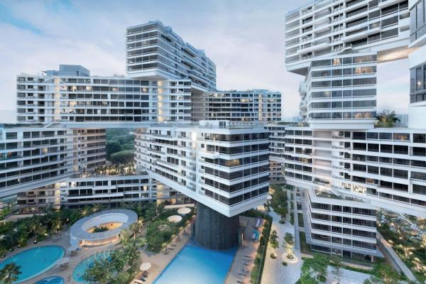 The Interlace, Singapore, by OMA/Buro Ole Sheeren, Image Courtesy © OMA/Buro Ole Sheeren