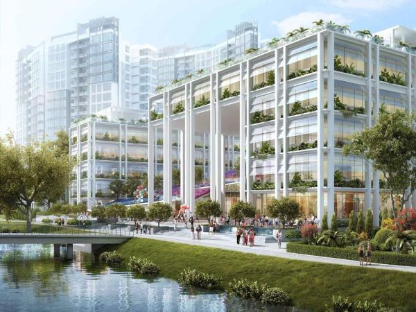 Gardens at Punggol, Singapore, by Serie + Multiply Consultants, Image Courtesy © Serie + Multiply Consultants
