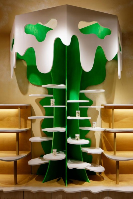 milk-tree tower C, Image Courtesy © Moriyuki Ochiai Architects