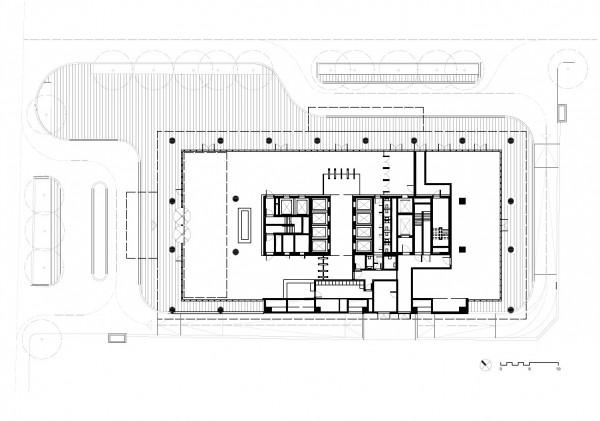 First floor, Image Courtesy © gmp Architekten von Gerkan, Marg und Partner
