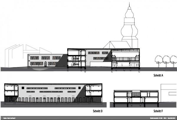 Sections, Image Courtesy © gmp Architekten von Gerkan, Marg und Partner