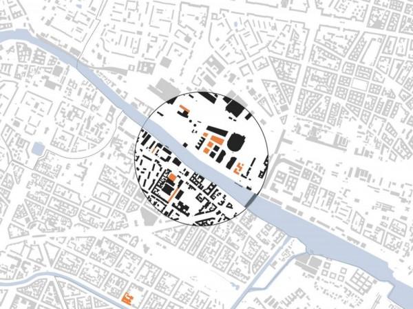 Centre of the Zalando Campus in Berlin, Image Courtesy © HENN