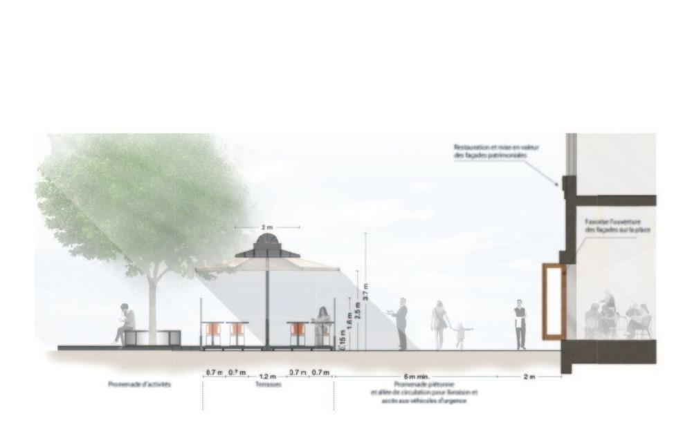 Atelier VAP's Proposal For Montréal's Place Jacques Cartier