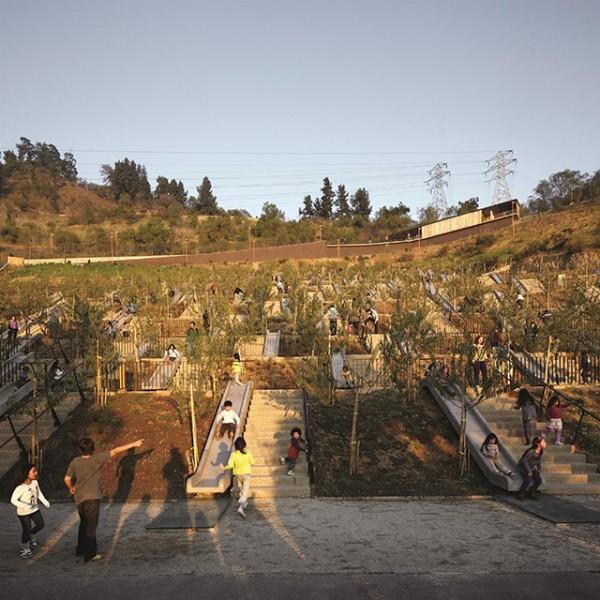 Bicentennial Children's Park, 2012, Santiago, Chile. Photo by Cristobal Palma.