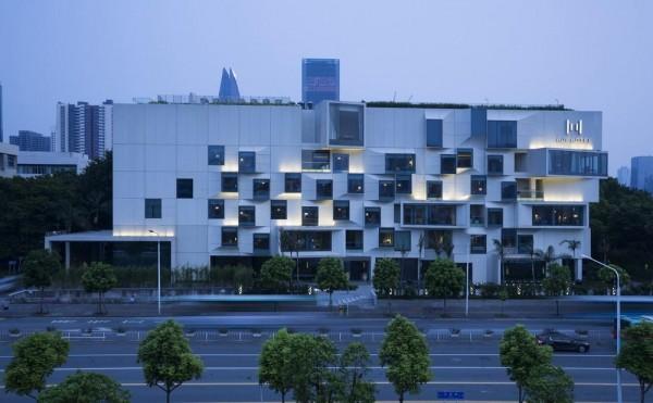 Aeccafe hui hotel shenzhen in china by yang hotel design for Design ximen hotel blog