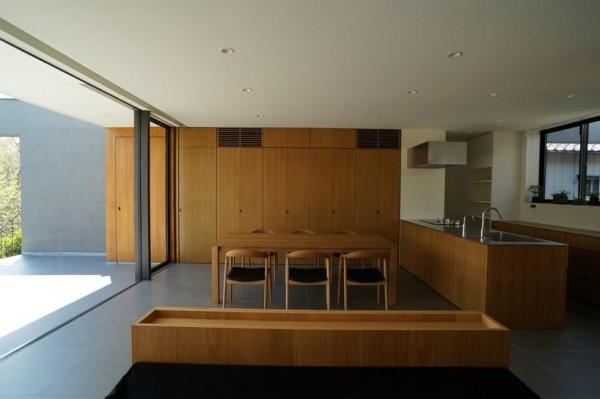 dining room and kitchen, Image Courtesy © Motoo Nakagawa