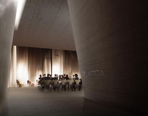 Conference room, Image Courtesy © 3TI PROGETTI + 3TI_LAB
