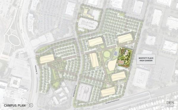 Campus Plan, Image Courtesy © DES A+E