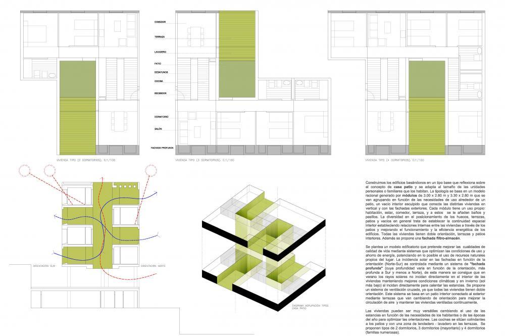 317 Social Housing In Loma De Colmenar Ceuta Spain By Sv60