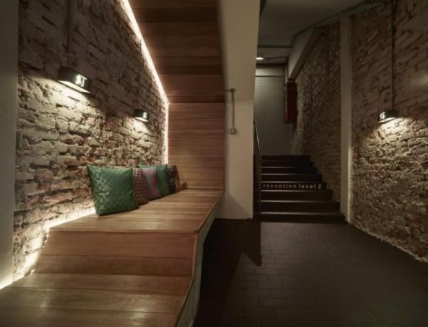 Ground floor foyer area, Image Courtesy © Staek Photography