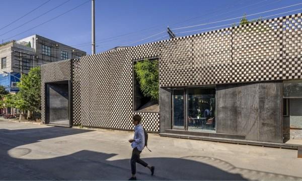 facade, Image Courtesy © Atelier Alter