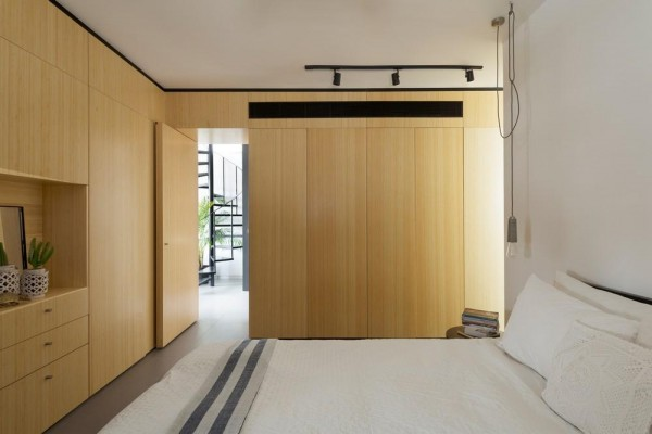 View at the master bed room ,  Image Courtesy © Gidon Levin