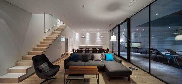 living room, Image Courtesy © Andrey Avdeenko