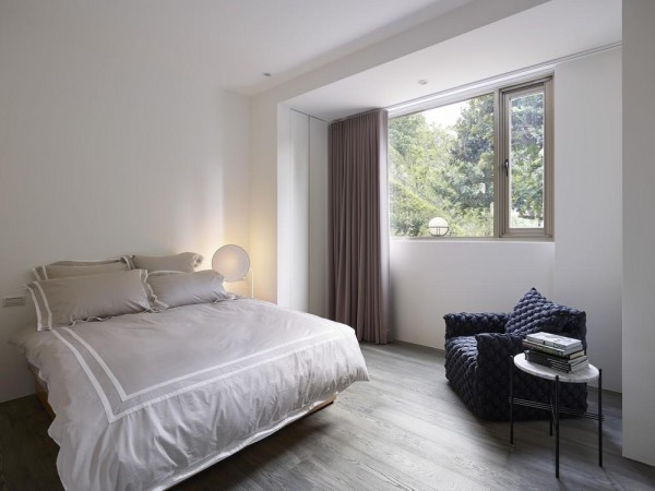 Main bedroom, Image Courtesy © Siew Shien Sam / MWphotoinc