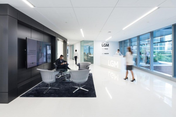 LGM's office reception, Image Courtesy © Ema Peter