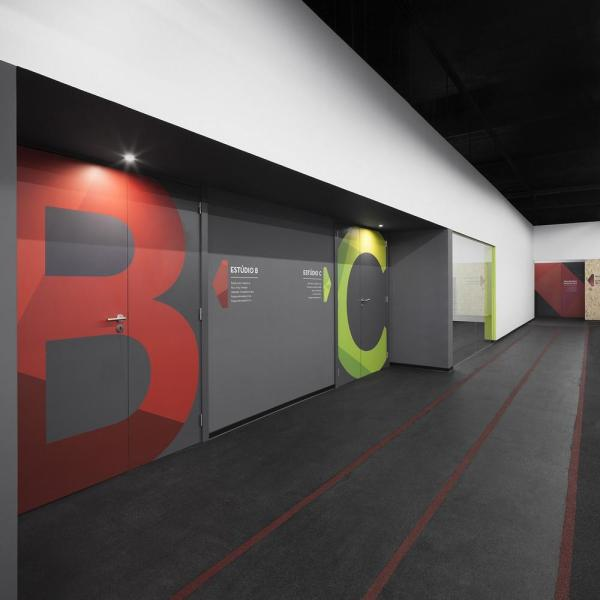 B and C studio entrance, Image Courtesy © Invisible Gentleman