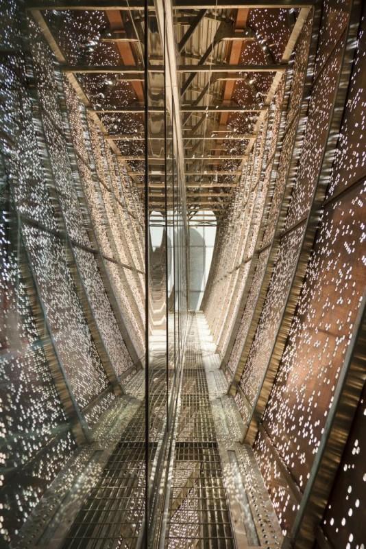 The skybridge, Image Courtesy © Karine Savard