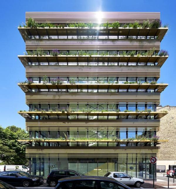 Image Courtesy © B+C Architectes