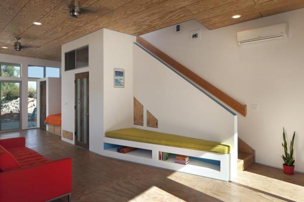 Family Room View 2, Image Courtesy © Jeremy Levine Design