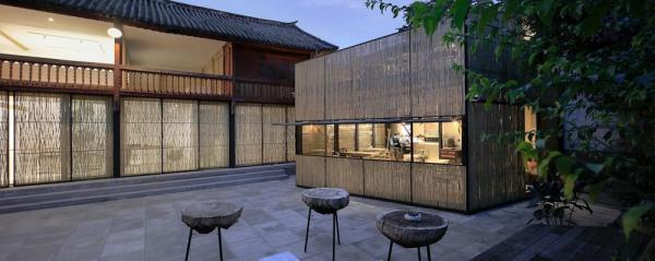 View from the courtyard, Image Courtesy © Pengfei Wang