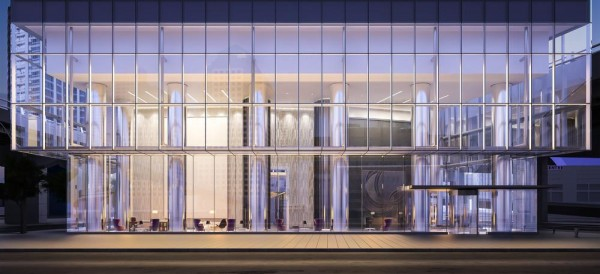 Ten York_Exterior, Image Courtesy © Norm Li Architectural Graphics