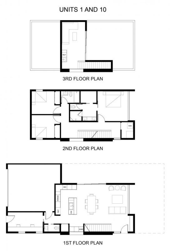 larger unit plans, Image Courtesy © The Ranch Mine