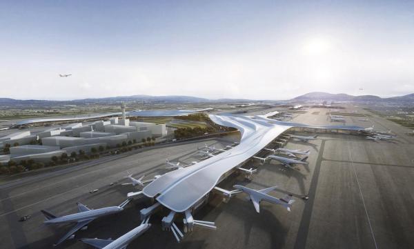 Chengdu International Airport Chengdu China, Image Courtesy © Aedas