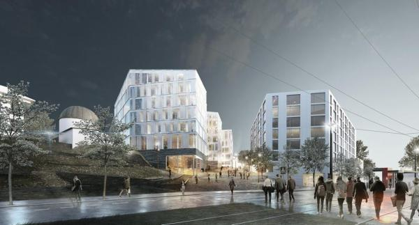 Image Courtesy © Arkitema Architects and Arkitektgruppen Cubus