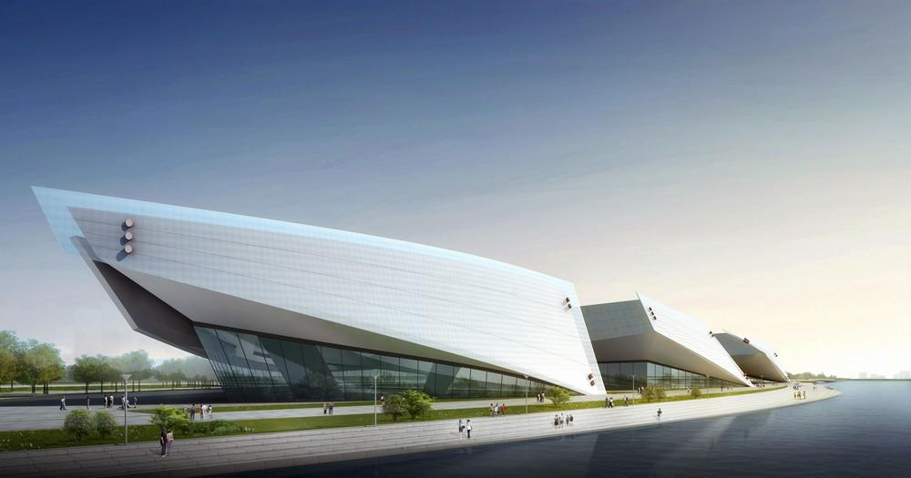 Changchun Northeast Asian Cultural & Art Complex in Jilin Province, China  by The Architectural Design and Research Institute of Harbin Institute of  ...