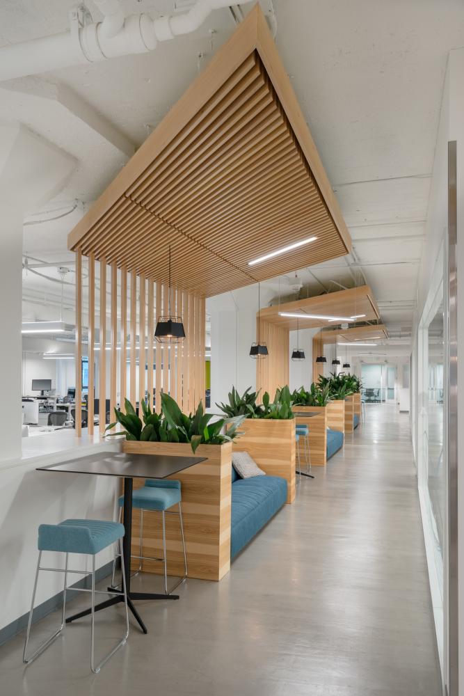 Aeccafe archshowcase for One room office interior design