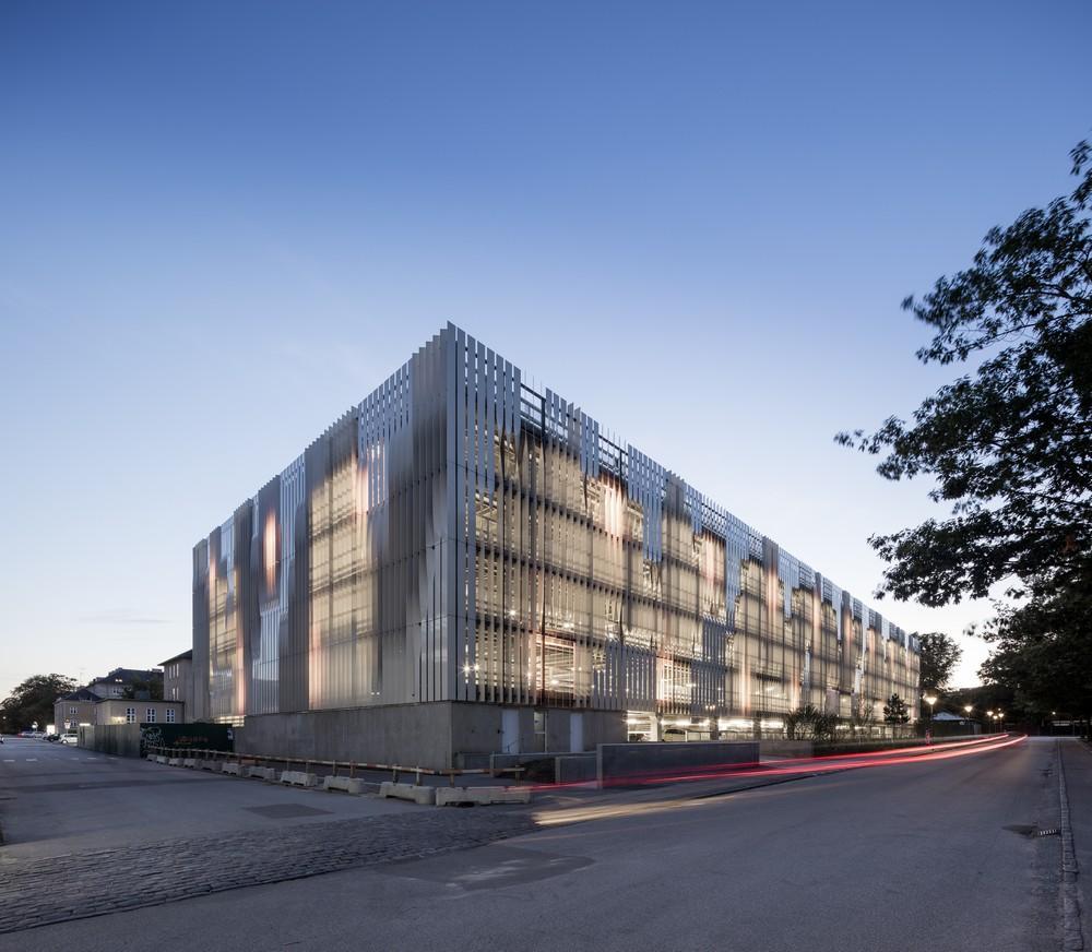 New Parking Garage At The Rigshospitalet In Copenhagen