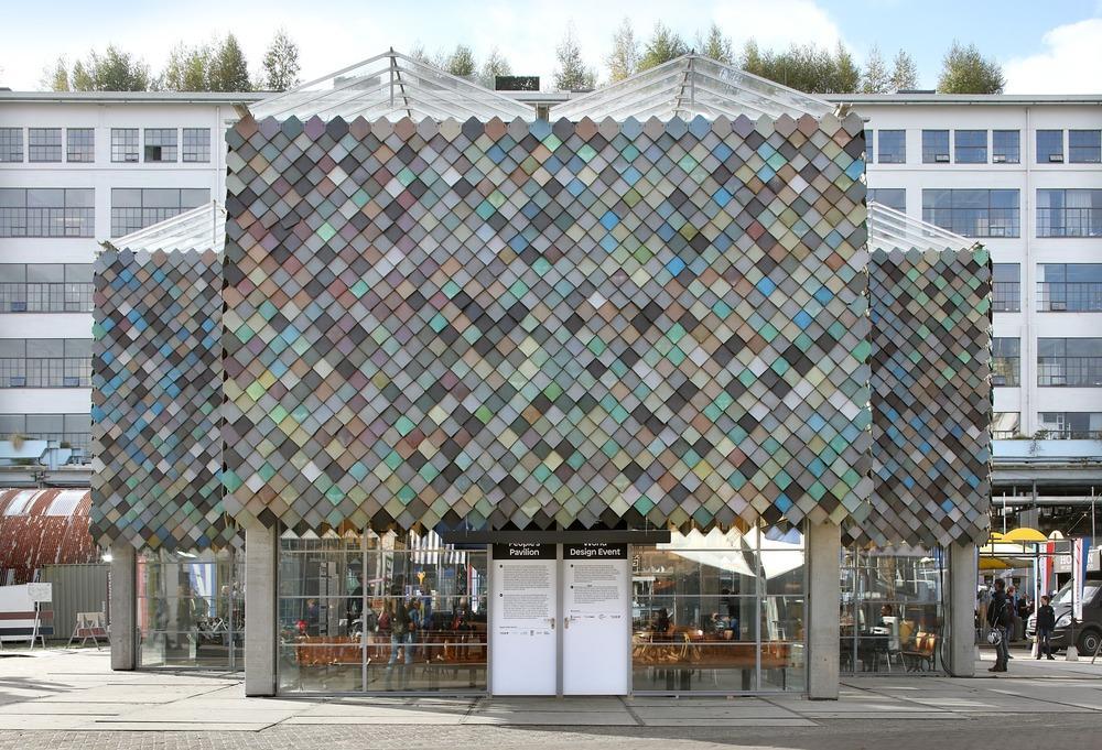 Peoples pavilion in eindhoven netherlands by bureau sla