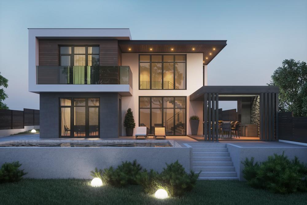 ArchShowcase - Modern House in Ukraine by Tobi Architects