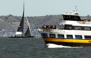 OSKI, the Blue & Gold ferry boat
