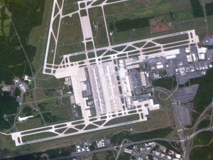 Dulles International Airport, courtesy of Planet Labs