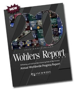 2015 wohlers Report Cover