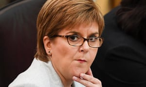 Nicola Sturgeon clears way for SNP MPs to back second EU referendum