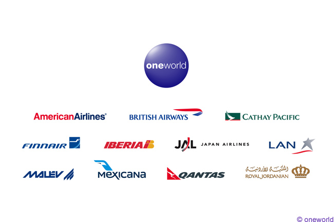 Image result for oneworld logo