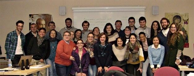 Participantes en el Curso de Voluntariado del 21-22 de marzo de 2015