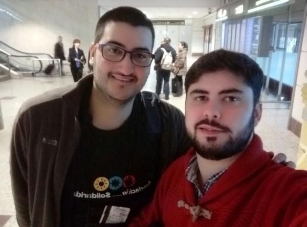 Alfonso Lora y Carlos Galán CSsR